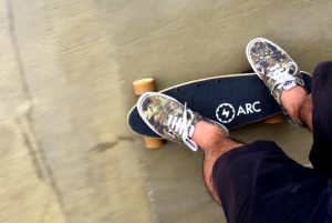 Arc The World's Smallest And Lightest Electric Skateboard Hits Kickstarter (video)