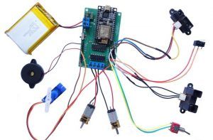 Esus Internet Of Things And Robotics Control Board (video)