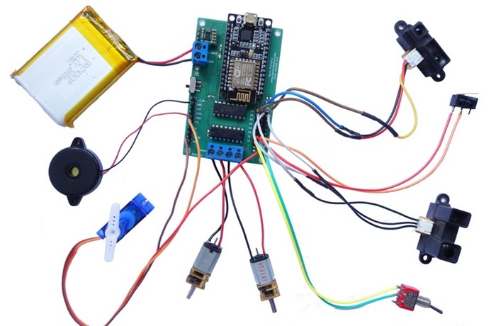 Esus Internet Of Things And Robotics Control Board