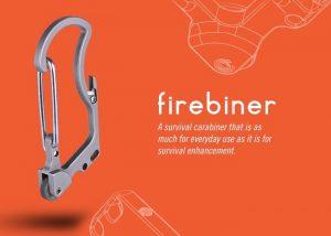 Firebiner Fire Starting Carabiner Survival Tool (video)