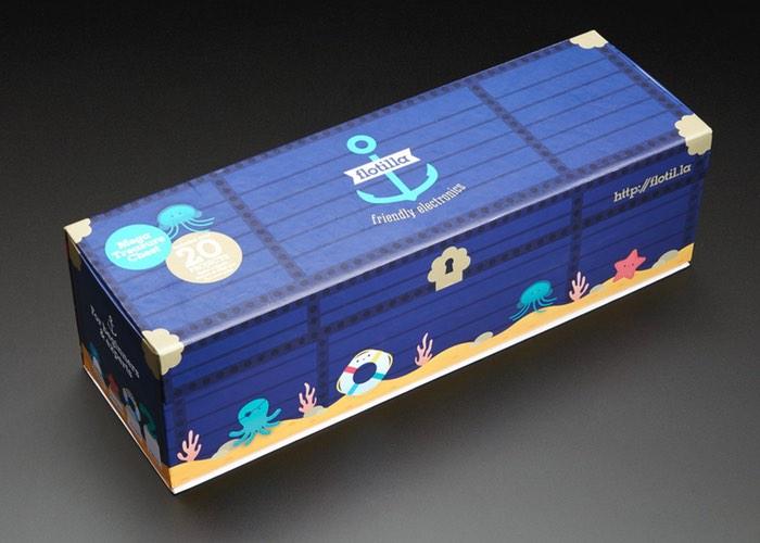 Flotilla Mega Treasure Chest Starter Kit