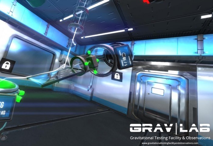 Grav|Lab Oculus Rift Gameplay Released