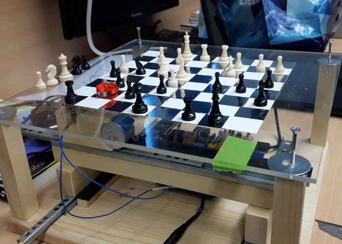harry potter inspired battle chess set powered by raspberry pi