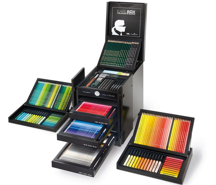 Karl Lagerfeld X Faber-Castell Drawing Set
