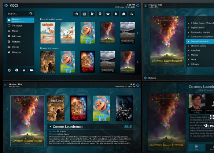 Kodi Media Center Now Available From Official Windows Store