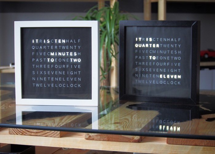 LetB Display Text Time Clock