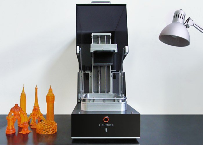 Lightning Double Exposure UV DLP 3D Printer