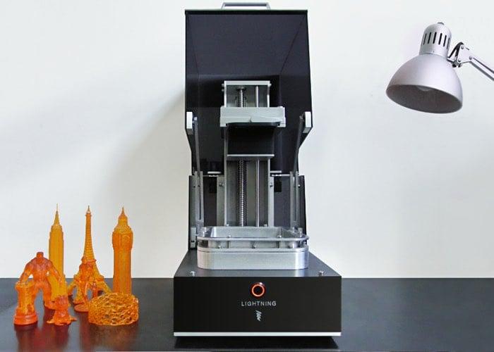 Lightning Double Exposure UV DLP 3D Printer