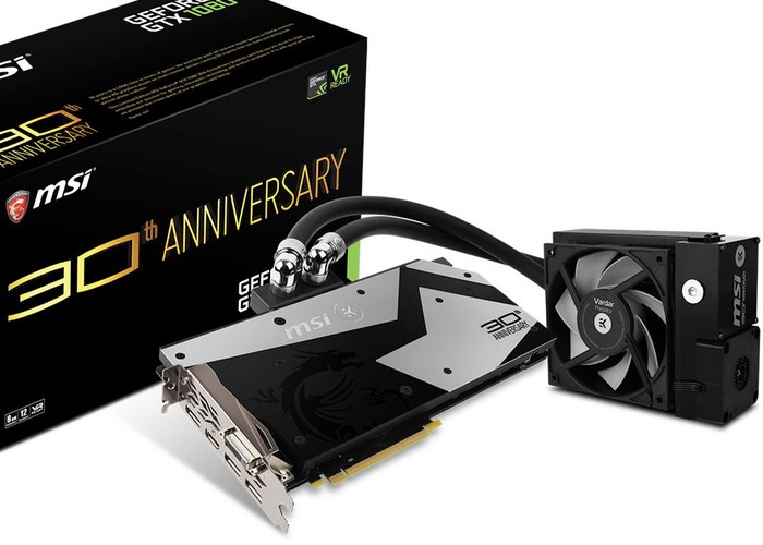MSI GeForce GTX 1080 30th Anniversary Edition Graphics Card