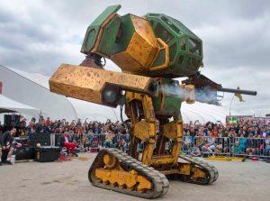 MegaBots Test Their New $200,000 Battle Bot (video)