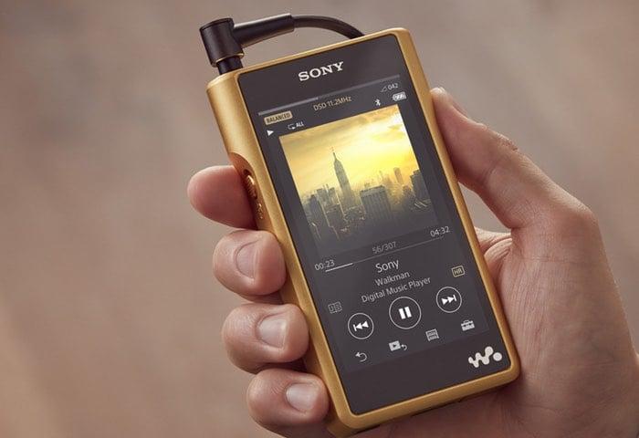 New Sony Walkman NW-WM1Z