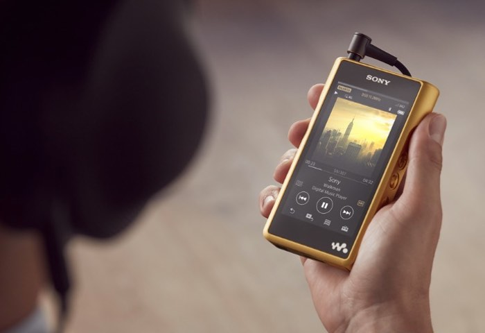 New Sony Walkman NW-WM1Z