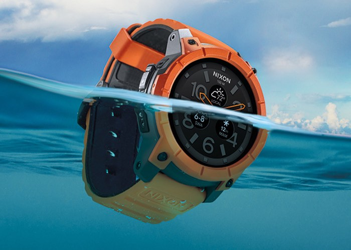 Nixon Mission Rugged SmartWatch