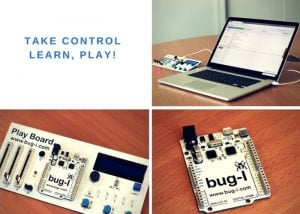 bug-I PlayBoard Helps Take The First Steps In Coding (video)