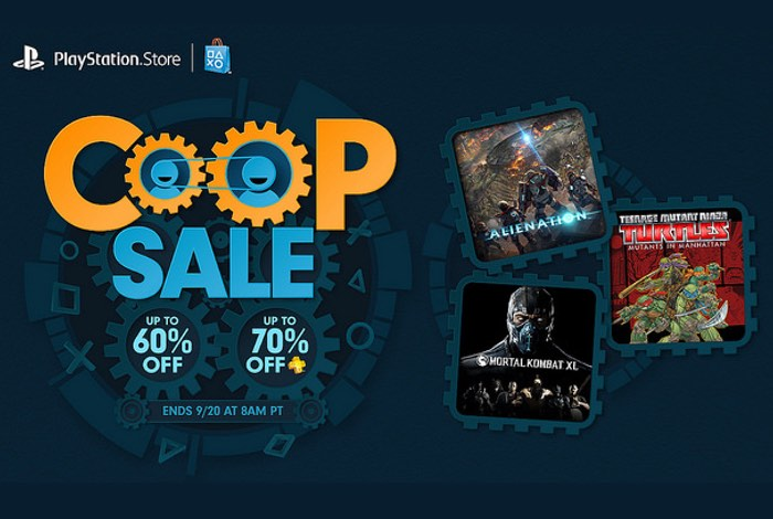 PlayStation Co-Op Sale
