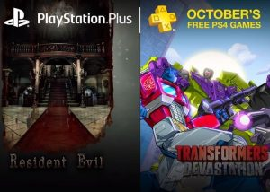 PlayStation Plus Free Games For October 2016 (video)