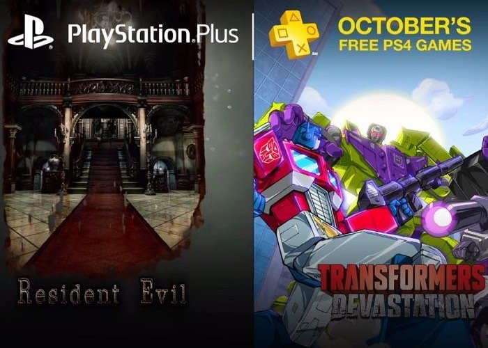 PlayStation Plus Free PS4 Games For October 2016