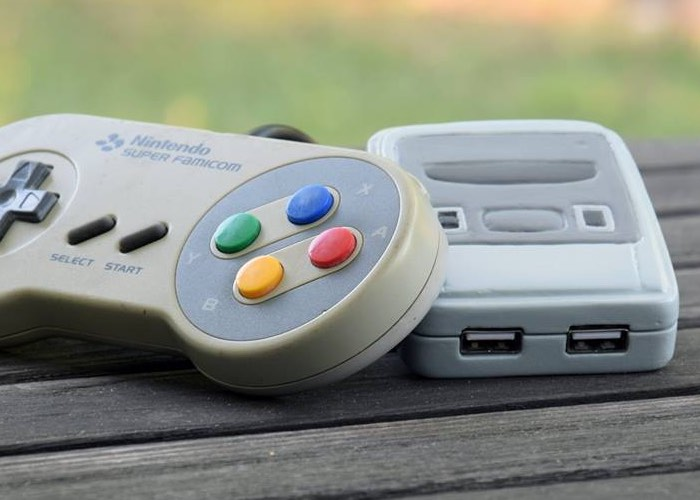 Playable Tiny SNES Console Created Using Raspberry Pi And Clay