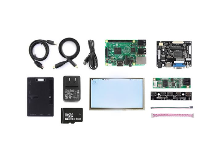 Raspberry Pi 3 Complete LCD Display Kit