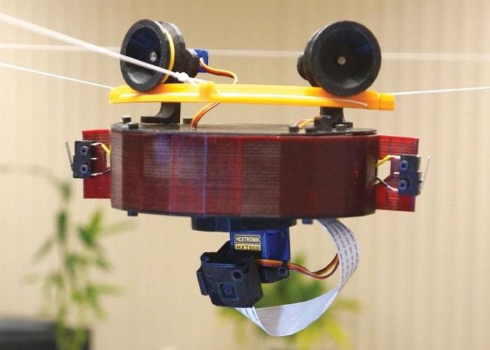 Raspberry Pi 3D Printed Skycam