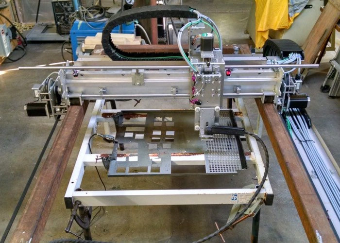 Raspberry Pi CNC Plasma Table Created
