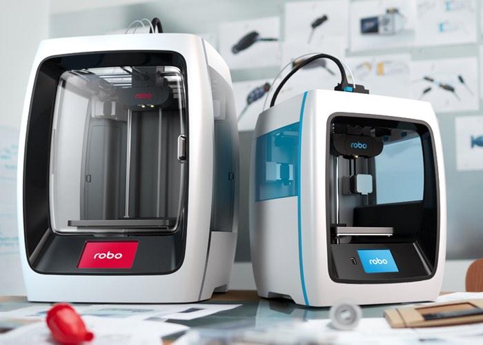 Robo C2 And Robo R2 Smart 3D Printers