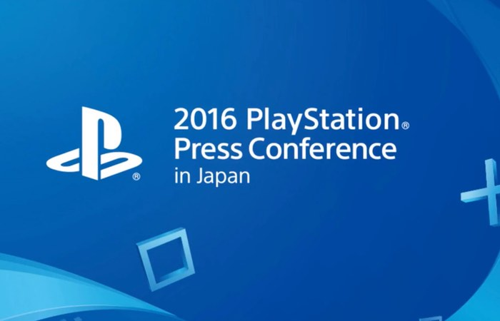 Sony TGS 2016 Press Conference From Japan