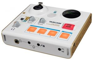 TASCAM MiNiSTUDIO Designed To Make Recording Podcasts Easy