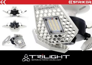 3000 Lumens TRiLIGHT Motion Activated Ceiling Light (video)