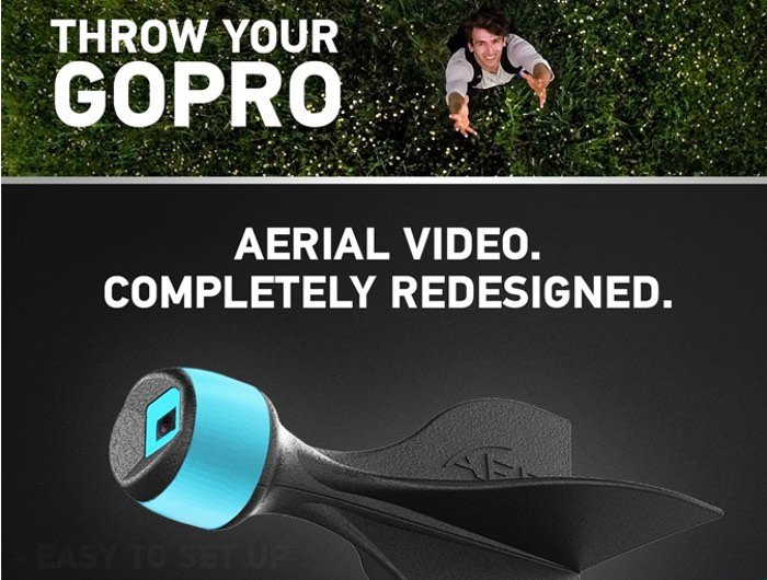 Throw Your GoPro Action Camera