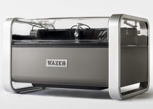 WAZER Desktop Waterjet Cutter Hits Kickstarter (video)