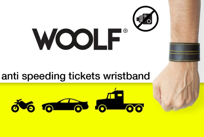 WOOLF Wearable Wristband Warns