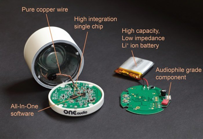 World's Smallest Audiophile Wireless Speaker