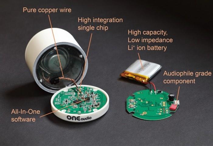 World's Smallest Audiophile Wireless Speaker