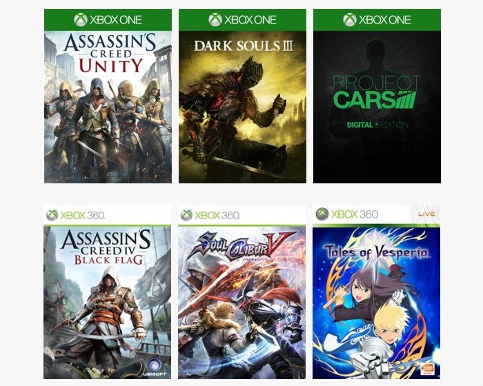 Xbox Gold, Spotlight And Bandai Namco Publisher Sale