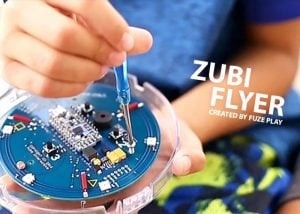 Zubi Flyer Hackable Toy Hits Kickstarter (video)