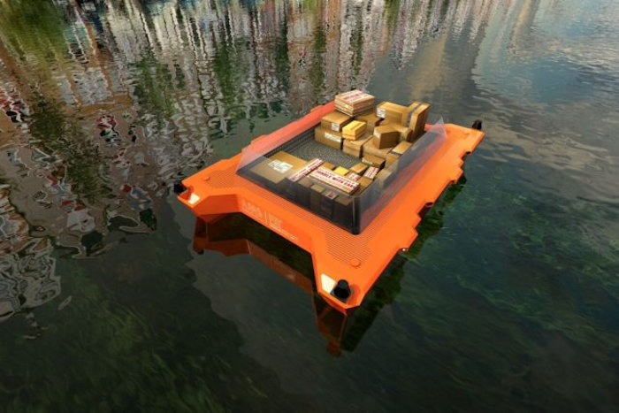 Autonomous Boats Will Roam Through Amsterdam's Canals Starting with 2017