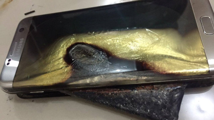 galaxynote7burned