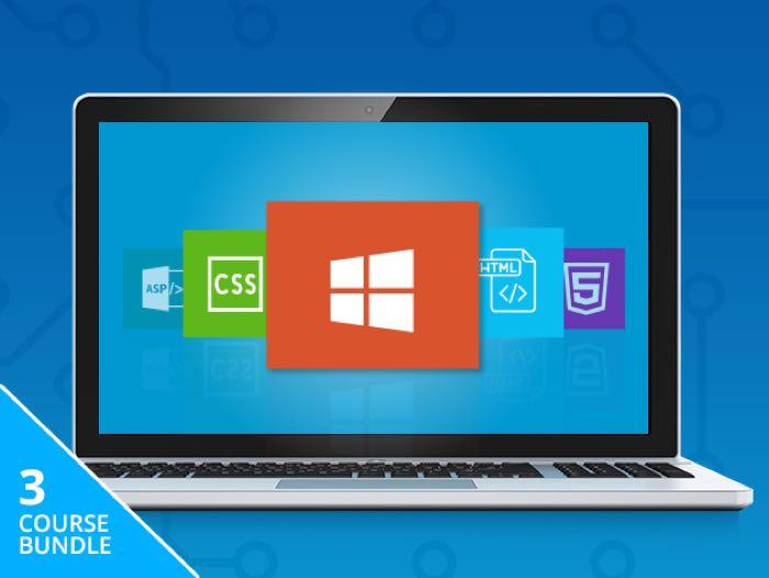 Microsoft Front-End Developer Training Bundle