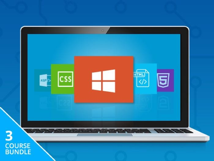 Microsoft Front-End Developer Training Bundle