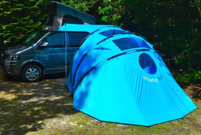 sheltaPod Campervan Awning