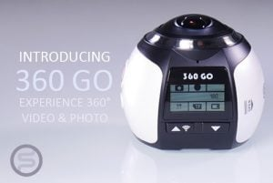 360 GO 4K Ultra HD Action Camera With 360 Degree Lens (video)