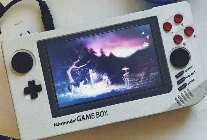 3D Printed Game Boy