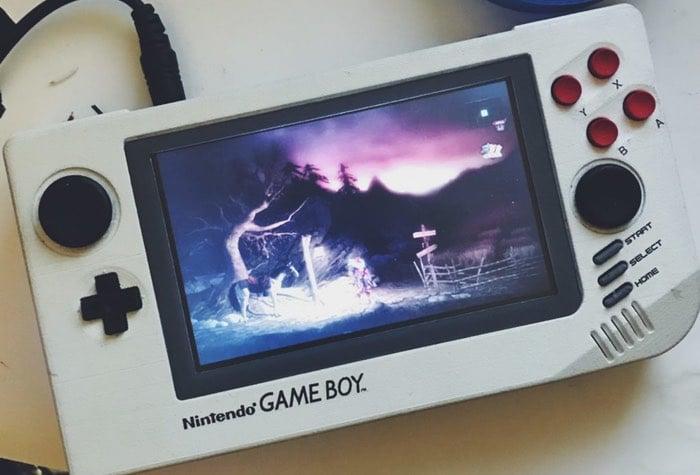3D Printed Game Boy