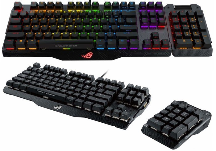ASUS ROG Claymore Gaming Keyboard