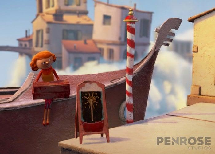 Animated Virtual Reality Story Allumette