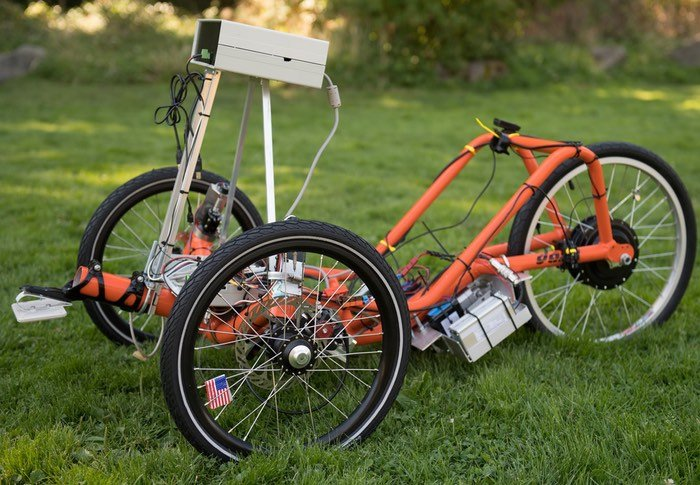 Arduino Self Driving Tricycle