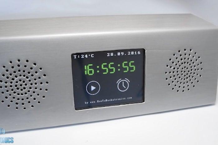 Arduino Touchscreen Music Player, Alarm Clock