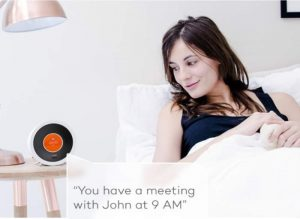 Bonjour Smart Alarm Clock With Artificial Intelligence Unveiled