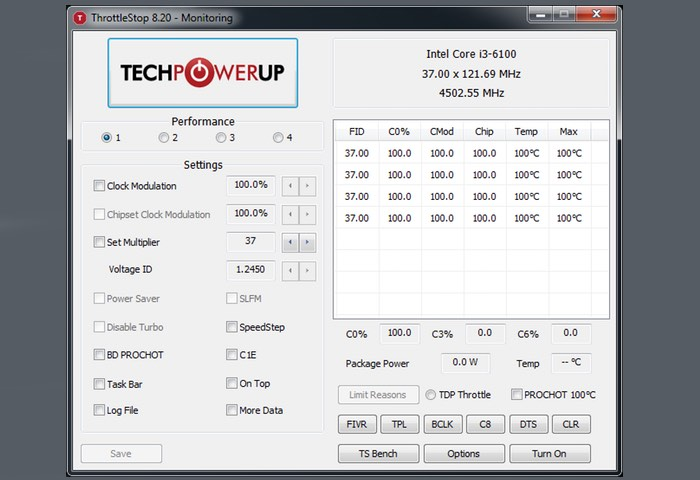 CPU Power Management Software
